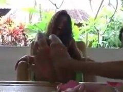island girls tickled