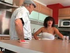 chubby young french arab fucked by old man papy voyeur at SEXDATEMILF.COM