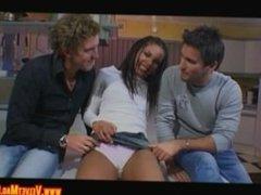 Mischa McKinnon Enjoying A Naughty Threesome Fuck