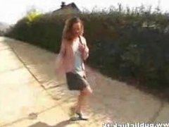 Miss from 1fuckdate.com - Young german teen in public