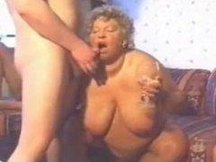 Bbw oma takes on 2 guys. Mireya from 1fuckdate.com
