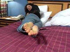 Foot Worship JOI Trisha