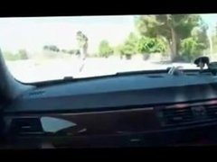Redhead in a car fucking and sucki. Talitha from 1fuckdate.com