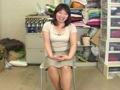 Jeannie from 1fuckdate.com - Japanese bbw mature masterbation w