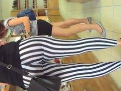 Lawana from 1fuckdate.com - A milfs big ass in zebra leggings