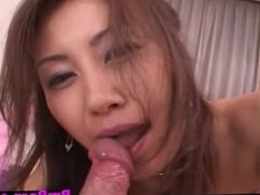 Slut + 2 dicks blowjob = cumshot Slut + 2 dic