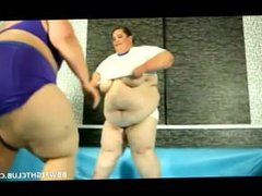 Huge fat bbws perform in naked wre. Leigha from 1fuckdate.com