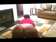 Huge bbw ass in small panties ebon. Arica from 1fuckdate.com