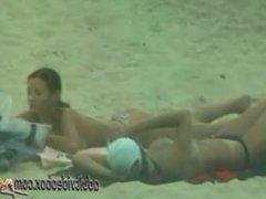 Nudist Beach Teen Girls Voyeur Serie 030422