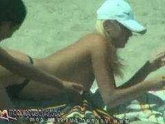 Nudist Beach Teen Girls Voyeur Serie 030502