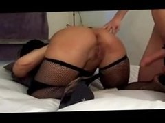 Milf bondage and fuck creampie. Colette from 1fuckdate.com