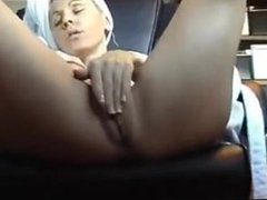 Hidden camera I caught Mom Masturbating