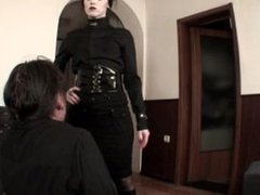 Goddess Bojana slapping