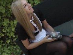 german blonde teen in anal creampie from SEXDATEMILF.COM