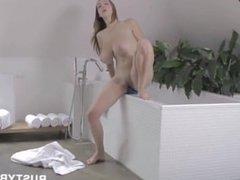 Brushing teeth and masturbating