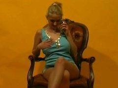 Anja from 1fuckdate.com - Big tits dancing