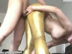 Jannette from 1fuckdate.com - German brunettes gets fucked and f