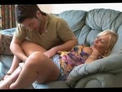 lucky guy fucks his girlfriends mature mother from SEXDATEMILF.COM