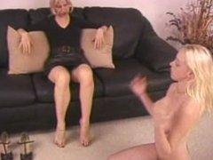 Lesbian Domination: Sandra's Humiliation