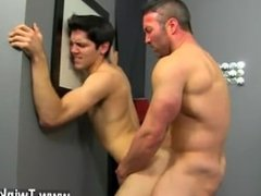 Gay down syndrome gay sex porn videos Brock Landon is thinking dinner