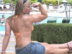 Wendy flexing 4
