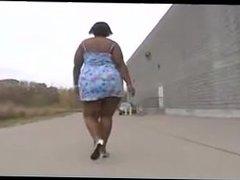 Black bbw walking. Mariette from 1fuckdate.com