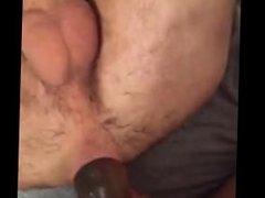 Branda from 1fuckdate.com - Big dildo pegging strap on gape