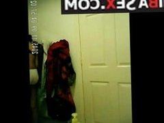 Desi girl caught on hidden cam