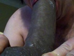ex girlfriend trains me on Bams dildo so i can suck her new boyfriend