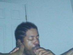 Ebony BBW foot worship