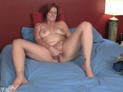 Chubby redhead veronica fingering . Daniela from 1fuckdate.com