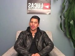 Armond Rizzo Interview after Orgy Scene with Comrad, Magic, Pedro & Max