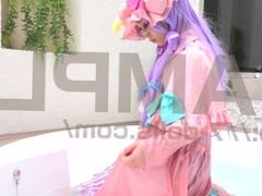 COSPLAY Touhou project Patchouli Knowledge KitamiEri