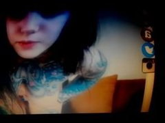 Horny girl in webcam. Berna LIVE on 1fuckdate.com