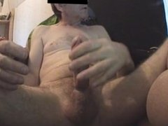 heavy preecum-biiig load of cum in my own face