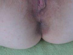 German bitch masturbates anal. Charlette from 1fuckdate.com