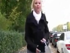 Lanell from 1fuckdate.com - German mature in public at berlin
