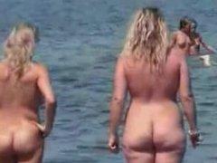 Nudist beach perv 7 chubby big tit. Elodia from 1fuckdate.com