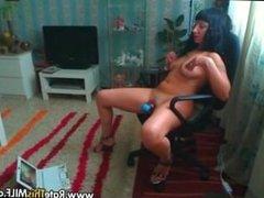 Amateur milf masturbating. Renata from 1fuckdate.com