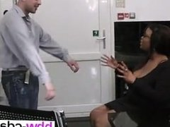 Ebony fatty spreads her legs for job - She is on BBW-CDATE.COM