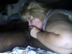 Meet her on BBW-CDATE.COM - MY fat white BBC hog slave bitch I MET O