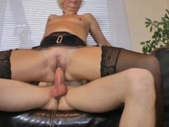 Milf Fucked by a REAL Stranger Teen Boy from the Internet