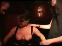Goth chick takes dick. Madeline from 1fuckdate.com