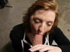Golden from 1fuckdate.com - Blowjob at work