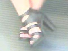 High heels asian. Martina from 1fuckdate.com