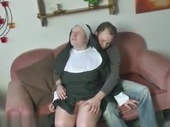 German Young Boy seduce Granny Nun to Fu - My Fuck from MILF-MEET.COM