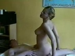 Cute big titted blonde rides that . Tessa from 1fuckdate.com