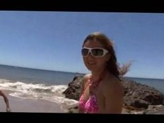 Allie 039 s beach blowjob. Enda from 1fuckdate.com