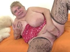 Very old granny with big tits and . Sharika from 1fuckdate.com