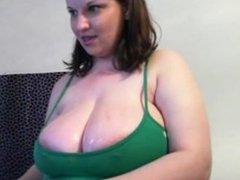Bbw on webcam part1of3. Leah LIVE on 1fuckdate.com